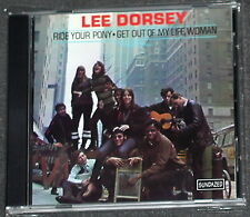LEE DORSEY Ride Your Pony CD 2000 Import Sundazed OOP MINT
