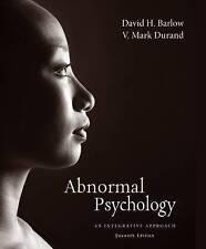 Abnormal Psychology: An Integrative Approach 7e  By David H. Barlow V. Mark 7th