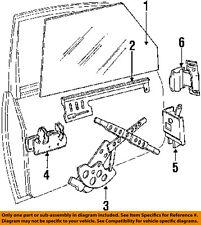 VOLVO OEM 84-89 244-Outside Exterior Door Handle Left 1202430