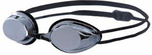 Vorgee Missile Silver Mirror Swimming Goggles - Black