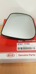 87621 1Y300 KIA PICANTO O/S/F DOOR MIRROR GLASS (2011 - 2017)