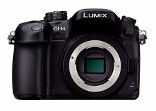 F/S Panasonic DMC-GH4-K 4K Mirrorless LUMIX Digital Camera Body EMS from Japan