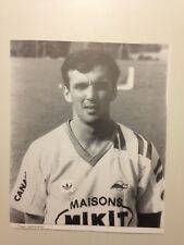 PHOTO DRAGAN YAKOVLJEVIC FC NANTES - CALENDRIER CONFORAMA 1989