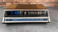 Vintage GE Clock Radio Model 7-4662a Pristine Condition