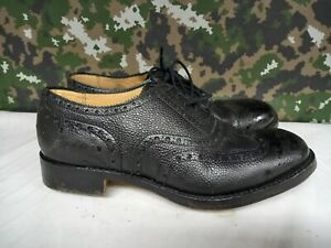 Genuine British Army Highland Issue Service Dress Shoes Brogues / Blakeys - 9 L