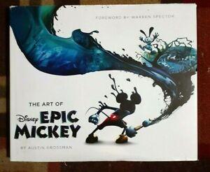 The Art Of Disney Epic Mickey Hardback Book