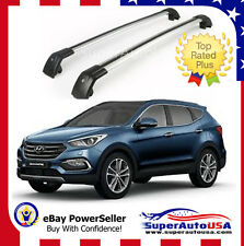 Top Roof Rack For Hyundai Santa Fe Sport 2013 - 2017 Baggage Luggage Cross Bar