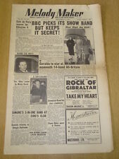 MELODY MAKER 1952 SEPTEMBER 13 BBC SHOW BAND GERALDO CAFE DE PARIS JAZZ JAMBOREE