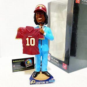 "ROBERT GRIFFIN III Washington Redskins ""Draft Day"" Exclusive NFL Bobblehead"
