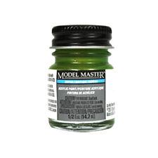 Model Master 4736 Interior Green Flat Acrylic Paint 14.7ml Jar Testors