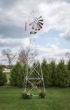 22 Ft Hand Made in the USA! Aluminum Garden Windmill