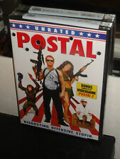 Postal (DVD) Unrated Edition! Uwe Boll, BONUS PC VIDEOGAME POSTAL 2! NEW!