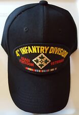 U.S. ARMY 4TH INFANTRY DIVISION IRAQI FREEDOM VETERAN Military Ball Cap