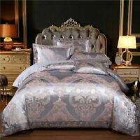 King Queen White Red Bedding Set Luxury Bed Cotton Duvet Cover Bed Linen cover