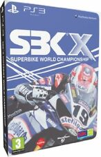 """SBK-X Superbike World Championship (PS 3) Steelbook Special Edition PAL """"New"""""""