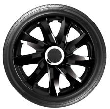 """4 x 16"""" Wheel Covers Hub Caps 16 Inch Wheel Trims Trim ABS Plastic Trim DriftBLC"""