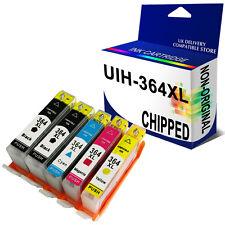 5 Ink 364XL Unbrand Fits for hp DESKJET 3520 3070A OFFICEJET 4610 4620 4622