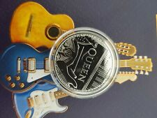 1oz silver Bullion Coin Rock Legends first of the Series Queen!