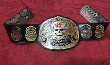 WWF STONE COLD SMOKING SKULL HEAVYWEIGHT CHAMPIONSHIP BELT IN 4MM BRASS PLATED!