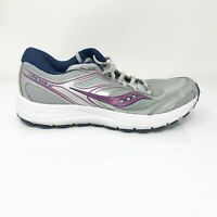 Saucony Womens Versafoam Cohesion 12 S10471-15 Gray Running Shoes Lace Up Size 9