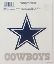 New Window Static Cling Dallas Cowboys NFL Football Licensed Fan League Sports