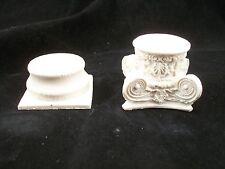 Column Base & Top Set  UMCS2 polyresin dollhouse miniature 1/12 scale