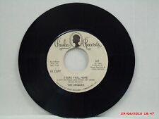THE UNIQUES-a-(45)-ONE SIDED WHITE LABEL DJ COPY-I SURE FEEL MORE-PAULA 303-1968