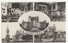 Glamis Castle RP Postcard  176a