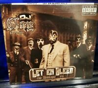 DJ Clay - Let 'Em Bleed 2 CD SEALED insane clown posse twiztid esham king gordy
