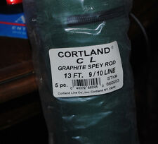 Cortland 13' Spey rod, 5 piece, 9/10 graphite fly rod fly fishing fish NEW