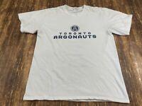 Toronto Argonauts Canadian Football League White T-Shirt - CFL - Medium