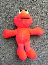 """Tyco 1995 Sesame Street Nice Elmo 9"""" Plush Stuffed Animal Toy Very Rare"""