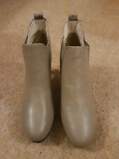 Size 8 Beige Ankle Boots