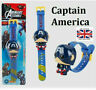 The Avengers Kids Toy Watch Hulk Iron Man Captain America Figure Electric Toys