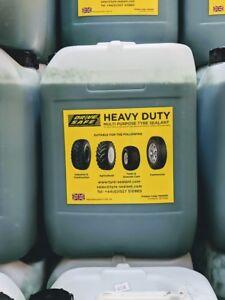 Tire / tyre sealant Multi purpose Heavy duty lawnmower, commercial 20-litre drum
