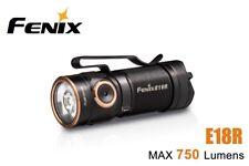 New Fenix E18R USB Charge Cree XP-L HI 750Lumens EDC LED Flashlight (NO Battery)
