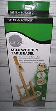 New Daler Rowney Mini Wooden Table Top Easel