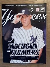 NY YANKEES AARON JUDGE PROGRAM JULY 2018 GLEYBER TORRES POSTER MLB BASEBALL NEW
