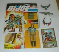 1984 GI Joe Indian Tracker Spirit & Freedom v1 Figure Complete w/ File Card Back