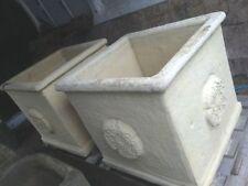 Concrete Square Flower & Plant Planters Boxes