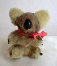 "Vintage Koala Bear Hard Stuffed by Alcheringa 6"" Circa Mid 60's Hard Nose Claws"
