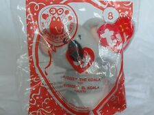 TY McDonald's Aussie the Koala Beanie Baby #8 New in Sealed Package