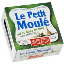 Le Petit Moulé Cheese Garlic and herbs // Shipping with tracking number