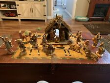 Fontanini 4 Pc Nativity Scene, Plus 13 Other Pieces all With Boxes, Euc !