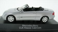 MINICHAMPS - Mercedes-Benz CLK Cabriolet silber - 1:43 in OVP / Box - B66962175