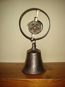 Large Early 19th Century Servant,Door,Bell,Stable Bell.Victorian,Antique