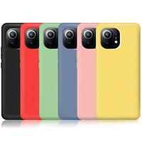 COVER per Xiaomi Mi 11 Lite CUSTODIA SOFT TPU SILICONE Slim + VETRO TEMPERATO