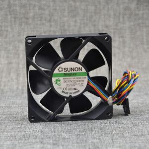 1pc SUNON MF80201VX-Q000-S99 12V 3.84W 8025 8CM 4-wire Cooling Fan
