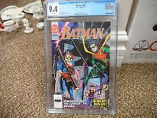 Batman 467 cgc 9.4 DC 1991 WHITE pgs NM MINT Shadow Box part 1 Robin Lyle cover