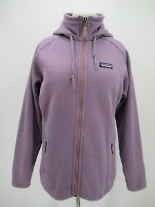 M0440 Patagonia Women's Full-Zip Tech Fleece Hoody Sweatshirts Size L